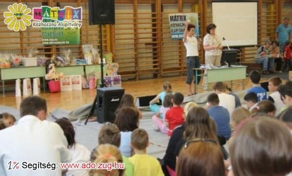 A Mátrix csapata iskolai rendezvényen vett részt