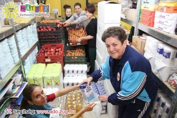 Készülnek a kiosztandó élelmiszercsomagok