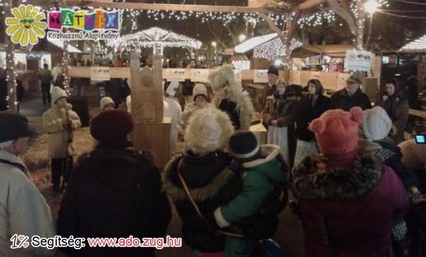 Adventi mese a Mátrix standjánál a Karácsonyi Vásáron