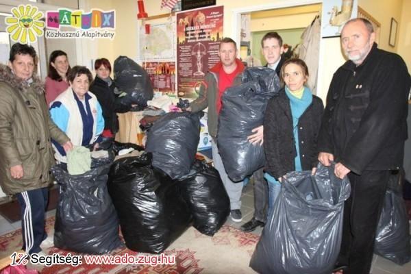 Bőséges ruhaadomány érkezett a Centerke Adományozói Központba
