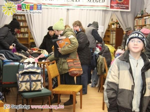 Évente többezer adomány kerül kiosztásra a Centerke Adományozói Központban